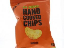 Chips handcooked barbecue bio