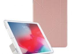 Pipetto Origami Luxe TPU IPad Air 2019 Hoesje Roze