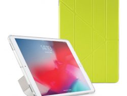 Pipetto Origami Luxe TPU IPad Air 2019 Hoesje Geel