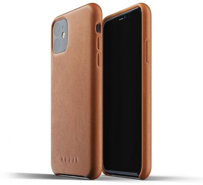 Mujjo Leather Hoesje IPhone 11 Pro Max Hoes Bruin