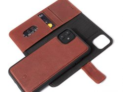 Decoded Leather 2 In 1 Wallet IPhone 11 Hoesje Bruin