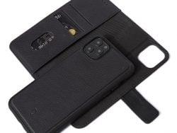 Decoded Leather 2 In 1 Wallet IPhone 11 Pro Max Hoes Zwart