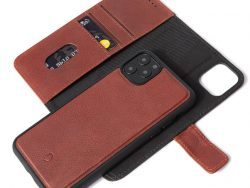 Decoded Leather 2 In 1 Wallet IPhone 11 Pro Max Hoes Bruin