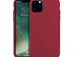 Xqisit Silicone IPhone 11 Pro Hoesje Rood