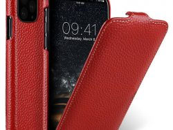 Melkco Leather Jacka IPhone 11 Pro Max Hoes Rood