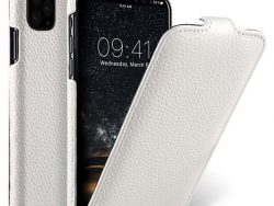 Melkco Leather Jacka IPhone 11 Pro Max Hoes Wit