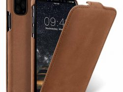 Melkco Leather Jacka IPhone 11 Pro Max Hoes Bruin