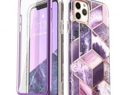 Supcase Cosmo Marble IPhone 11 Pro Hoesje Paars