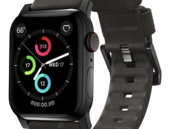Nomad Active Leather Apple Watch 44 / 42 Mm Bandje Bruin