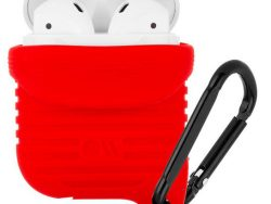 Hoesje-Mate Tough AirPods Hoesje Rood