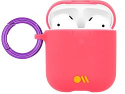 Hoesje-Mate Grip AirPods Hoesje Coral