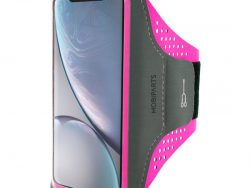 Mobiparts Comfort IPhone XRsportband Roze