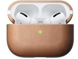 Nomad Leather AirPods Prohoesje Naturel