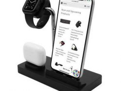 MacAlly 3 In 1 Oplaadstation Inclusief Apple Watch
