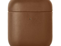 Native Union Leather AirPods Hoesje Bruin