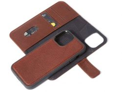 Decoded Leather 2 In 1 Wallet IPhone 12 Pro / IPhone 12 Hoesje Bruin