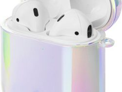 LAUT Holografisch AirPods Hoesje Wit