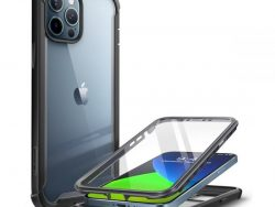 Supcase Rugged Ares IPhone 12 Pro / IPhone 12 Hoesje Zwart
