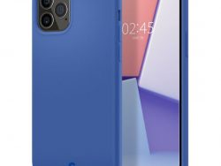 Spigen Cyrill Silicone IPhone 12 Pro Max Hoesje Blauw