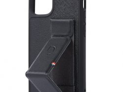 Decoded Leather Dual Stand IPhone 12 Minihoesje Zwart