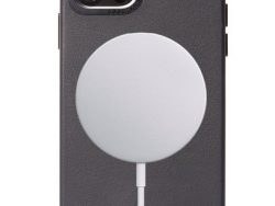 Decoded Leather MagSafe Backcover IPhone 12 Pro / 12 Hoesje Zwart