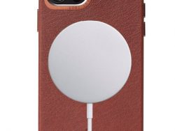 Decoded Leather MagSafe Backcover IPhone 12 Pro Max Hoesje Bruin