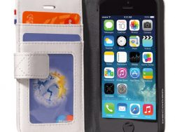 Decoded Leather Wallet IPhone SE/5S Hoesje Wit