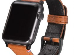 Decoded Leather Strap Watch 38 Mm Bruin