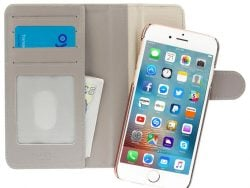 Pipetto Magnetic IPhone SE 2020 / 8 Wallet Hoesje Large Grijs