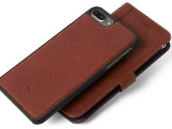 Decoded Leather 2 In 1 Wallet IPhone 8/7 Plus Hoes Bruin