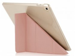 Pipetto Origami Luxe IPad 2018 / 2017 Hoes Roze