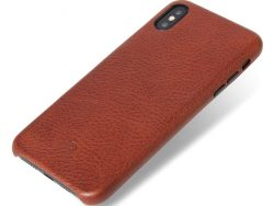 Decoded Leather Backcover IPhone XS Max Hoes Bruin