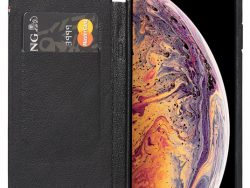 Decoded Slim Wallet IPhone XS Max Hoes Zwart