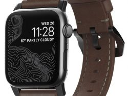 Nomad Traditional Leather Apple Watch 44 / 42 Mm Bandje Bruin