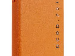 Decoded POP Leather IPhone XR Backcover Hoesje Oranje