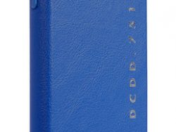 Decoded POP Leather IPhone XS / X Backcover Hoesje Blauw