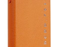 Decoded POP Leather IPhone XS / X Backcover Hoesje Oranje