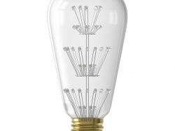 CALEX - LED Lamp - Pearl ST64 - E27 Fitting - 2W - Warm Wit 2100K - Transparant Helder