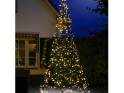 Fairybell licht kerstboom 400 cm 640 LED warm wit inclusief mast