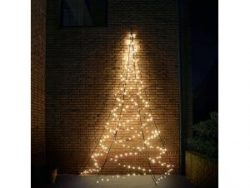 Fairybell Wall kerstboom halfrond 400 cm 240 LED warm wit