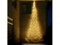 Fairybell Wall kerstboom halfrond 600 cm 450 LED warm wit
