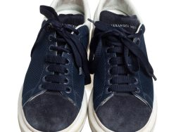 Mesh and Suede Oversized Sneakers 43