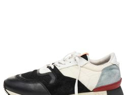 Givenchy Tricolor Mesh And Suede Low Top Sneakers Size 43