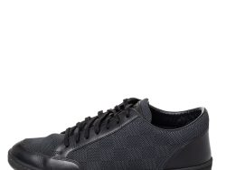 Louis Vuitton Graphite Damier Fabric And Leather Offshore Low Top Sneakers Size 40