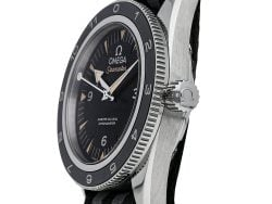 Omega Black Stainless Steel Seamaster 300 Spectre Limited Edition 233.32.41.21.01.001 Men's Wristwatch 41 MM