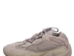 Adidas x Yeezy Beige Mesh And Suede 500 Blush Sneakers Size 43.5