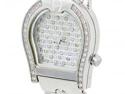 Aigner Mother of Pearl Stainless Steel Diamond Verona A01200 Women's Wristwatch 24 mm