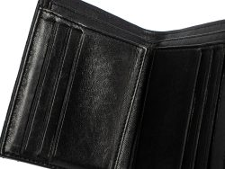 Chanel Black Quilted Lambskin Leather Small Boy Wallet