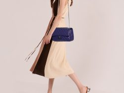 Chanel Purple Quilted Lambskin Leather Reissue 2.55 Classic 226 Flap Bag
