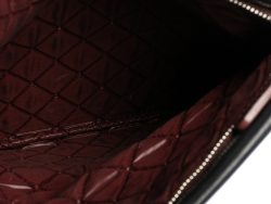 Chanel Black Quilted Leather Fold Over Clutch